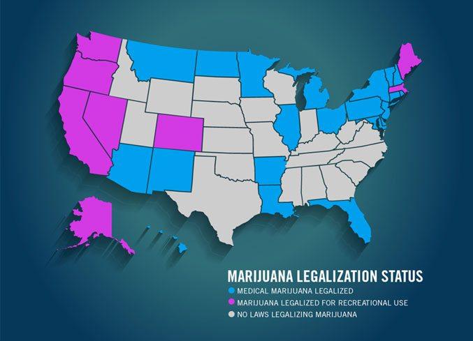 States were Medical Marijuanna is legal